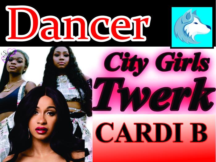 City Girls - Twerk  ft. Cardi B  BOXED