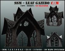 SSM - Leaf Gazebo C/M