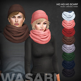 Wasabi // Ho ho ho Scarf (extended) - All colors