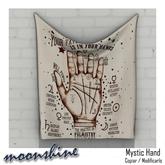 ::moonshine:: Draped Wall Mystic Hand