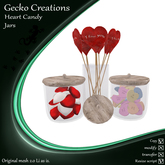 GC-Heart Candy Jars(Boxed)