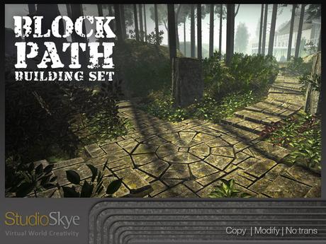 Skye Block Path Building Set