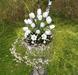 Cj secret garden statue white tulips 002