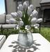 CJ Tulip white in Vase ~ c + m ~