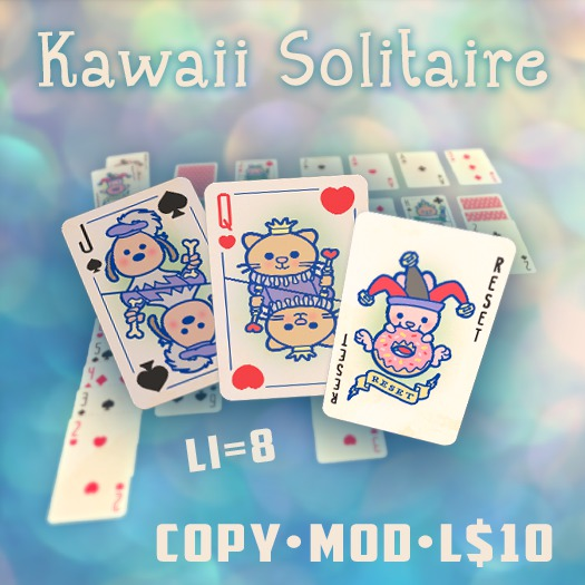 Play the Kawaii Klondike Solitaire Card Game