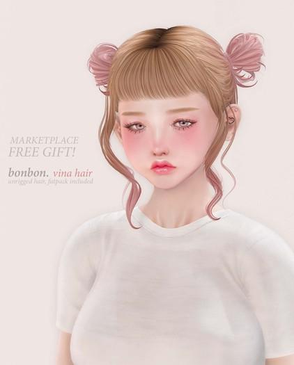 FREE GIFT - bonbon - vina hair (FATPACK)