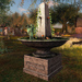 CJ Dreamer Obelisk Fountain with anim. Birds ~ c + m ~