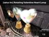 [satus Inc] Rotating Valentine Heart Lamp