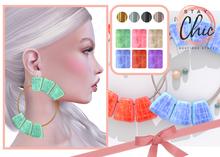 Stay Chic - Chia earrings