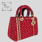 MY BAGS MY DIOR  RED
