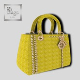 MY BAGS MY DIOR  YELLOW