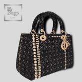 MY BAGS MY DIOR BLACK