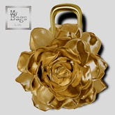 MY BAGS MY FLOWER GOLD