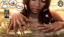 ... SpotCat ... Mermaid - Bento rings
