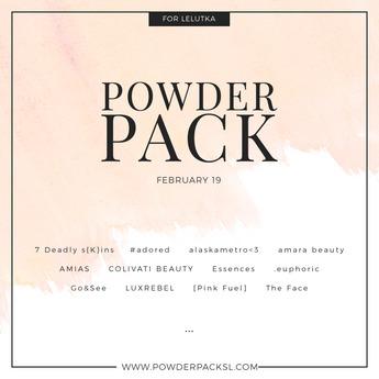 POWDER PACK LELUTKA February 19