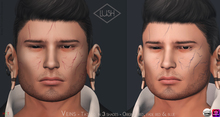 Lush - Veins - Face Tattoo CATWA & OMEGA