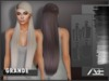 Ade - Grande Hairstyle (Greyscale)