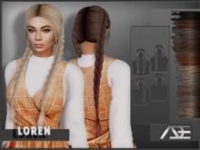 Ade - Loren Hairstyle (Browns)