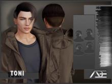 Ade - Toni Hairstyle (Greyscale)