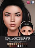 Izzie's - Baby Hairs V2 Hairbase (Genus)