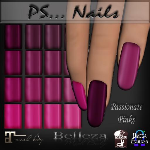 Passionate Pinks Polish (Feb Group Gift)