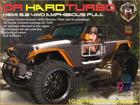 OR HARDTURBO HEMI 5.8 4WD Amphibious FULL