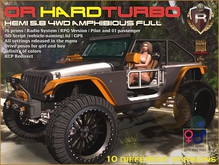 OR HARDTURBO HEMI 5.8 4WD Amphibious FULL (BOX)