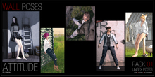 ATTITUDE WALL POSES PACK 01 - UNISEX POSES
