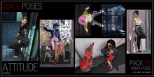 ATTITUDE WALL POSES PACK 02 - UNISEX POSES