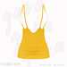 Gaia - Pictures Skirt YELLOW