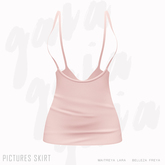 Gaia - Pictures Skirt LIGHT PINK