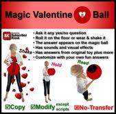 Magic Valentine 8 Ball