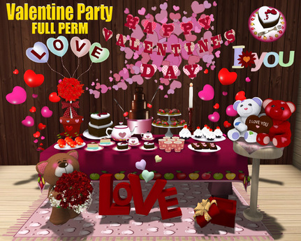 [ FULL PERM ] Deluxe Valentine Party / Happy Valentine's day
