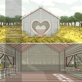 !Lyrical B!zarre Templates! - Valentine Hut MESH FP