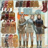 !gO! LULA sweater&skirt - 1