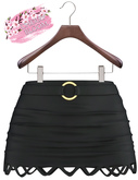 Melina EXCLUSIVE Female  Skirt Mesh- MAITREYA LARA - Black Color CB collection