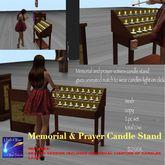 Revised version Animated memorial & Prayer Votives (crate)