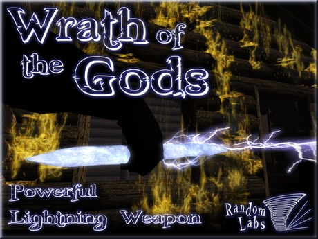 Wrath of the Gods Lightning Wand