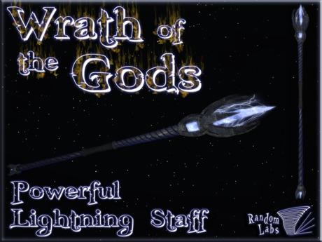 Wrath of the Gods Lightning Staff