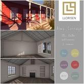 llorisen // alms cottage.blue