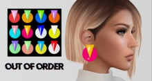 OUT OF ORDER - 80s Earrings