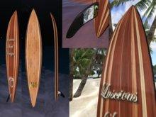 "The ""Kelly Slater"" Tow-Surfboard by LSD (copy/mod)"