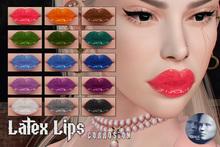 . c o r r o s i o n // Lips . Latex II (Genus)