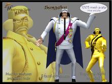 Avatar mesh Sengoku One Piece