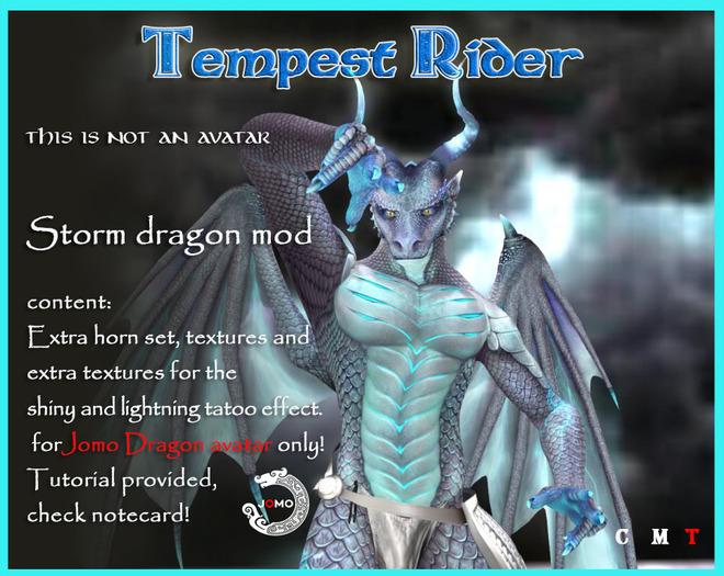 Wear ME - Storm Dragon MALE_box