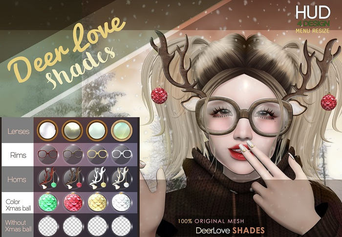 NS::  DeerLove SHADES