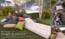GOOSE - Snuggle up mattress PG