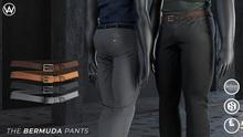[WAZ] Bermuda Pants - Olive BOXED (Add/Rezz Me)