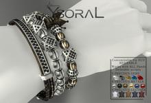 ~~ Ysoral ~~  .:Set Luxe 3 Bracelet Brice :.
