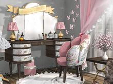 {moss&mink} Monique vanity dresser